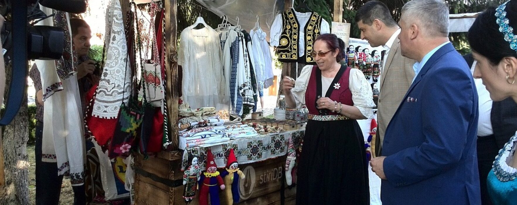 "Târg medieval la Târgovişte, ""Negustori la poarta cetăţii"" (foto)"