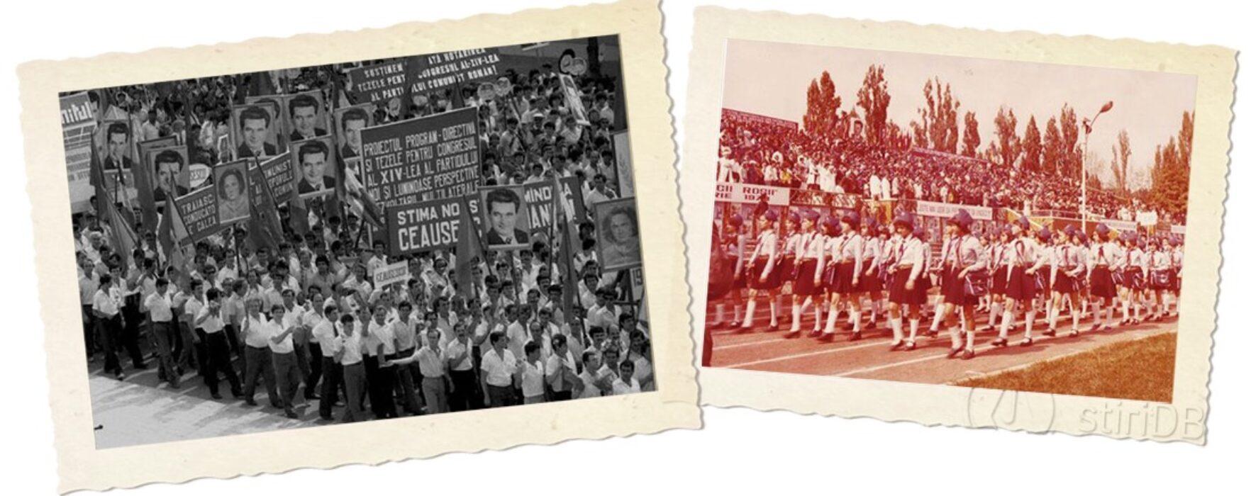 Cum se sărbătorea 23 august la Târgovişte înainte de 1989 (foto)