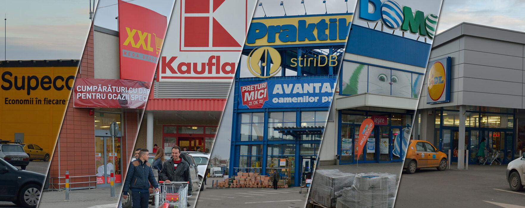 Şase supermarketuri, în centrul Târgoviştei, pe terenul UPET