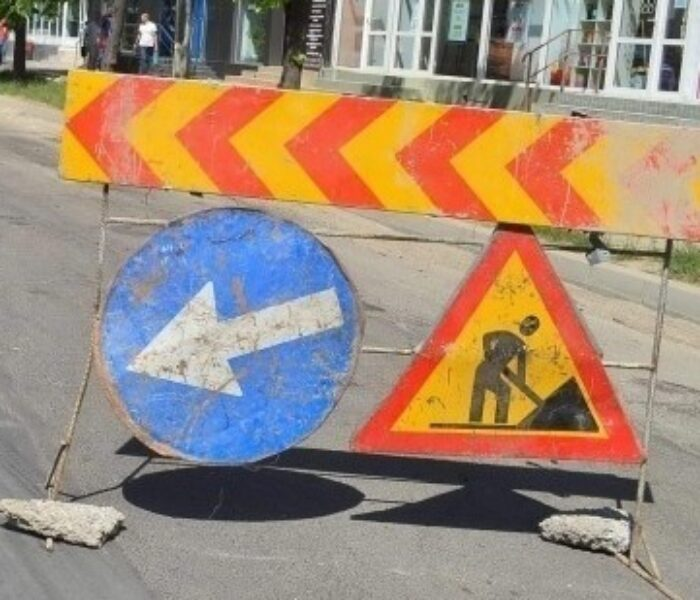 Circulaţie blocată, în Târgovişte, pe strada Col. Dumitru Băltăreţu la intersecţia cu Bdul Mircea cel Bătrân