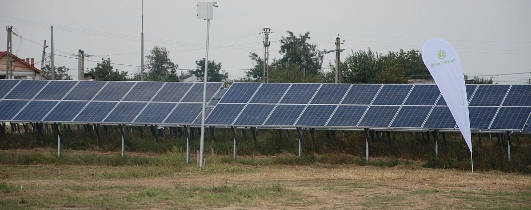 Investiţie parcuri fotovoltaice, la Nucet