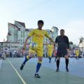 Spectacol fotbalistic pe platoul Prefecturii Dâmboviţa (foto)