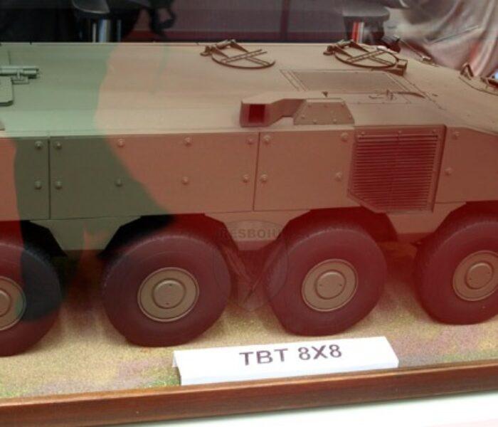 Transportorul blindat 8×8 va fi fabricat de o societate mixtă Uzina Automecanica Moreni-Rheinmetall