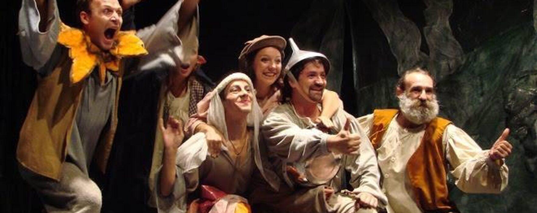 """""""Visul lui Fundulea"""", la Teatrul Tony Bulandra Târgovişte"""