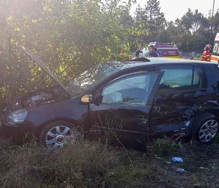 Dâmboviţa: Accident pe DN 72, la Picior de Munte, cu patru maşini implicate