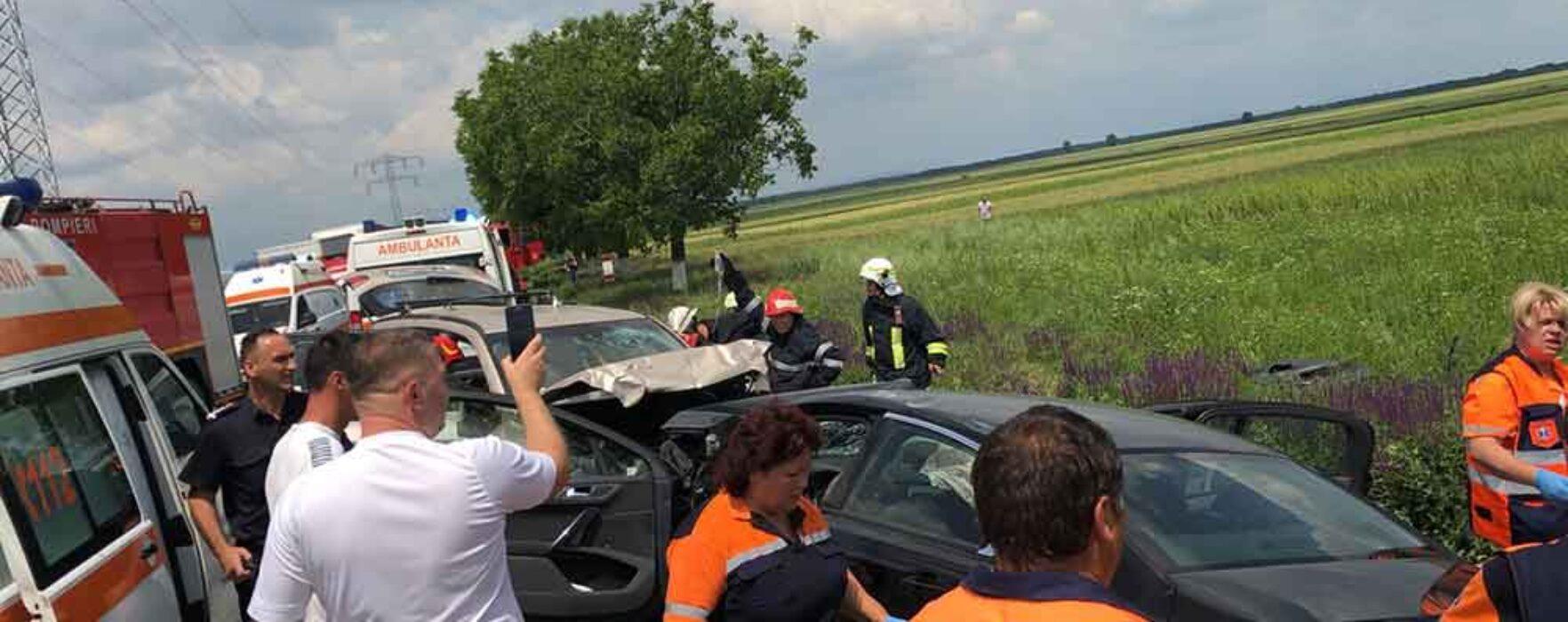 Dâmboviţa: Trafic blocat pe DN 71, în urma unui accident în care o persoană a murit