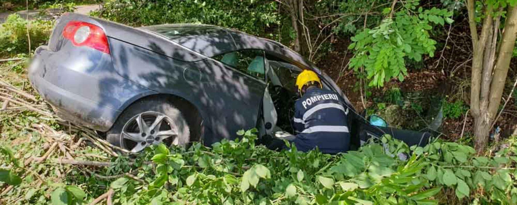 Dâmboviţa: Accident pe DN72, zona I.L. Caragiale, două persoane rănite