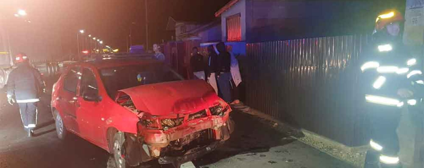 Dâmboviţa: Accident în Ulmi, trei persoane rănite