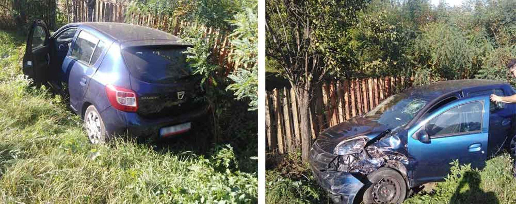 Dâmboviţa: Accident cu doi răniţi pe DN72A