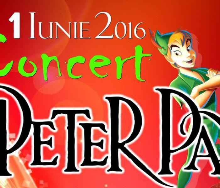 """""""Peter Pan"""", concert de 1 iunie, la Târgovişte, al orchestrei Muntenia"""