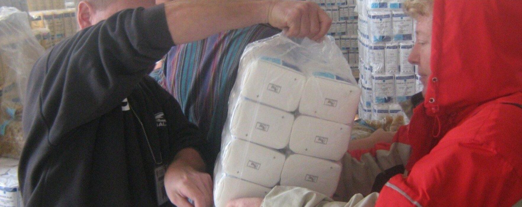 Ajutoare alimentare, distribuite de Primăria Târgovişte din 27 ianuarie