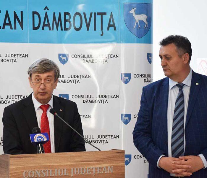 Dâmboviţa: Ambasadorul Federaţiei Ruse în vizită în judeţ