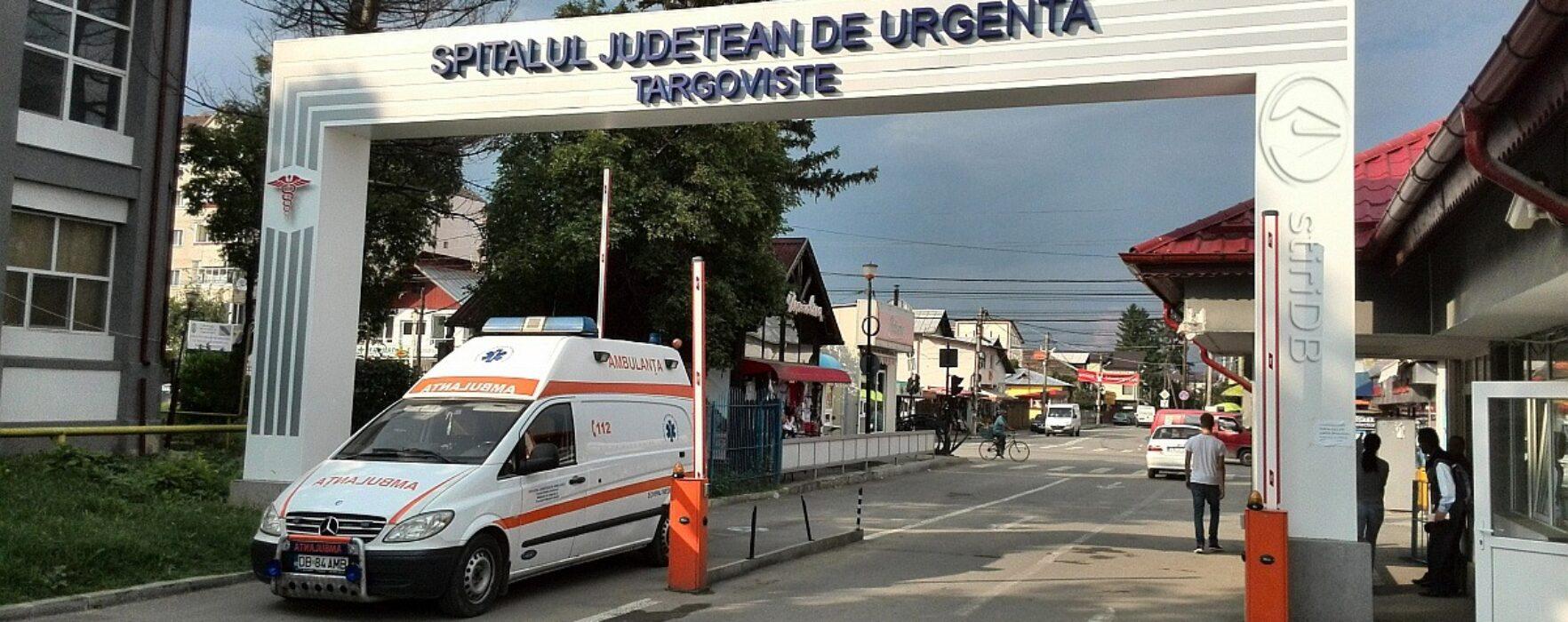 Târgovişte: S-a aruncat de la etajul patru şi a ajuns în stare gravă la spital