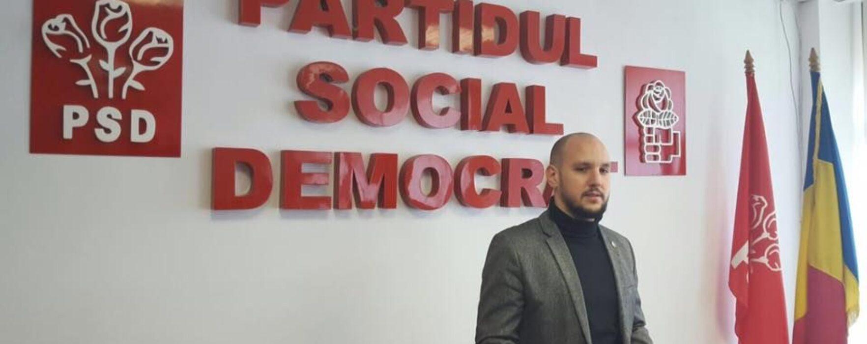 Târgovişte: Consilierul local PSD Andrei Păunescu îşi pierde mandatul