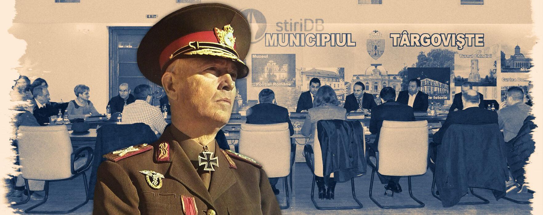 EXCLUSIV Târgovişte: Se va lua în discuţie retragerea titlului de cetăţean de onoare mareşalului Ion Antonescu