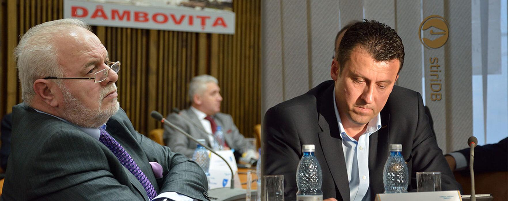 Marin Antonescu şi Adrian Dumitru, noii vicepreşedinţi ai CJ Dâmboviţa