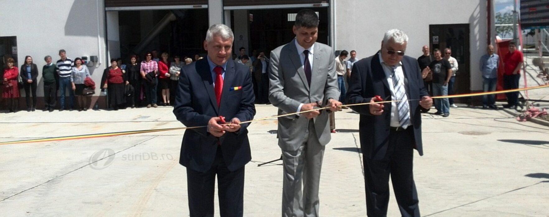 A fost inaugurată staţia de epurare din Târgovişte, realizată cu fonduri europene (video)