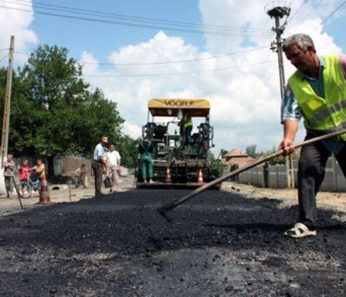 Târgovişte: Mai multe străzi vor fi reabilitate; durata lucrărilor va fi de 6 luni