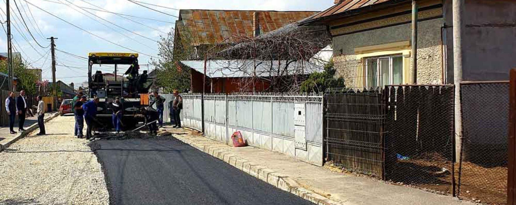 Târgovişte: Primăria anunţă că va începe asfaltarea străzilor Nicolae Filipescu, Nifon si Herta