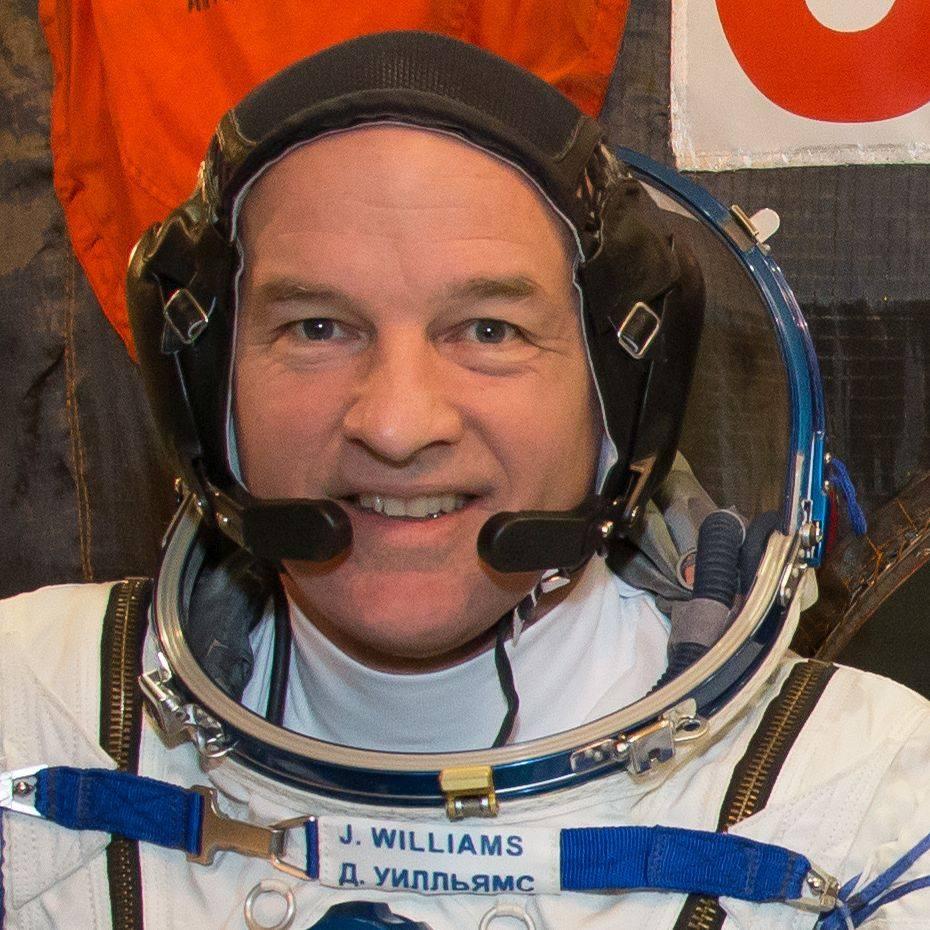 Astronautul american Jeff Williams