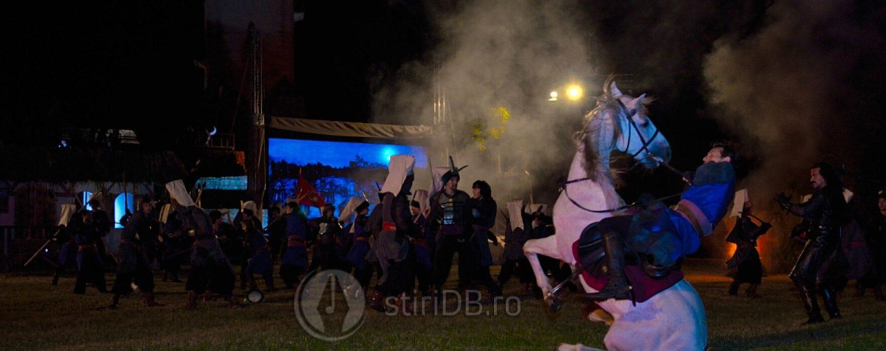 Lupte aprige între valahii lui Ţepeş şi otomani, la reeditarea atacului de noapte (foto, video)