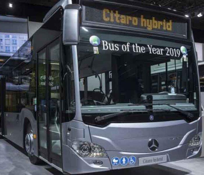 Târgovişte: Primăria anunţă când va ajunge în oraș primul autobuz Mercedes Hybrid pentru transportul în comun