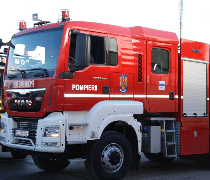 Dâmboviţa: Incendiu la Judecătoria Târgovişte, 30 persoane evacuate preventiv