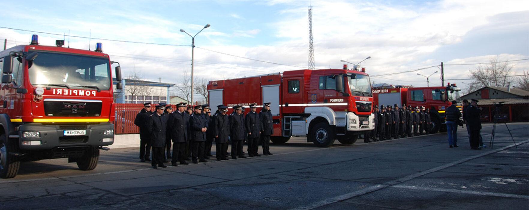 Autospecială nouă primită de ISU Dâmboviţa