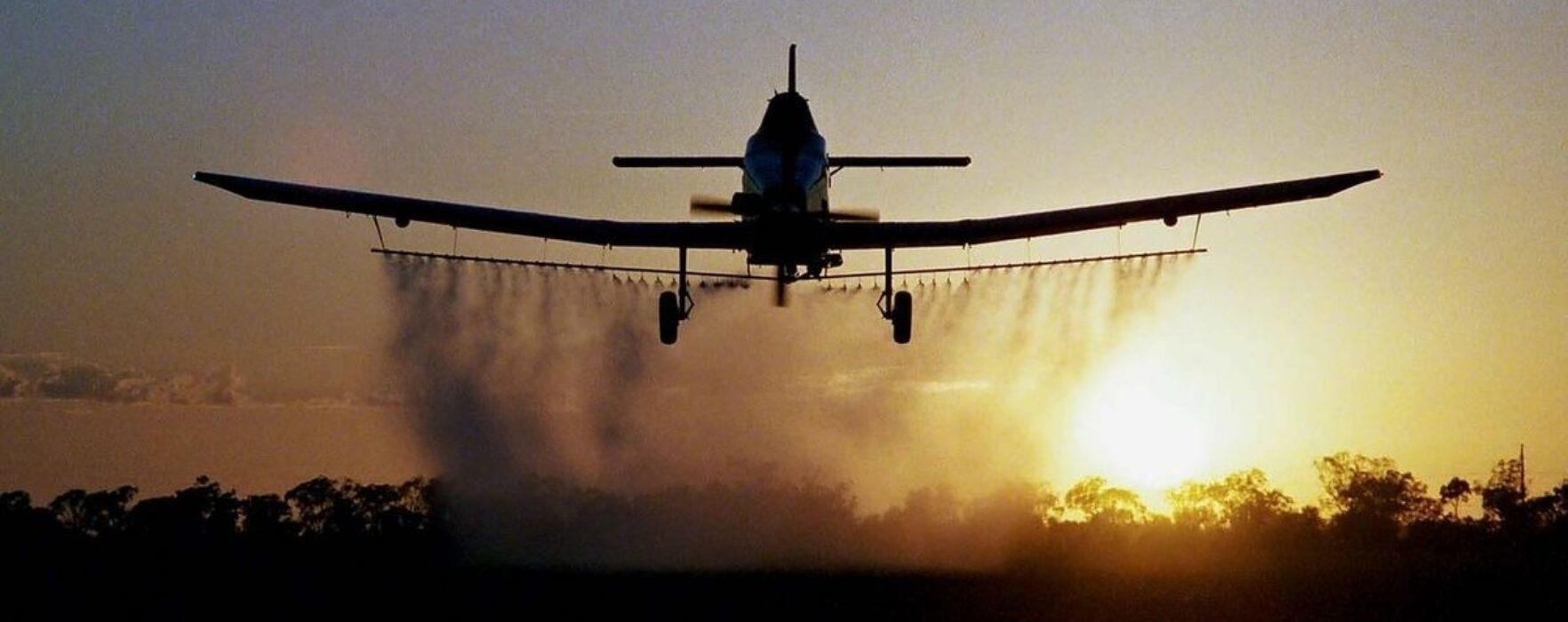 Aviotratamente pentru combaterea insectelor, la Titu, 11 iunie-13 iunie