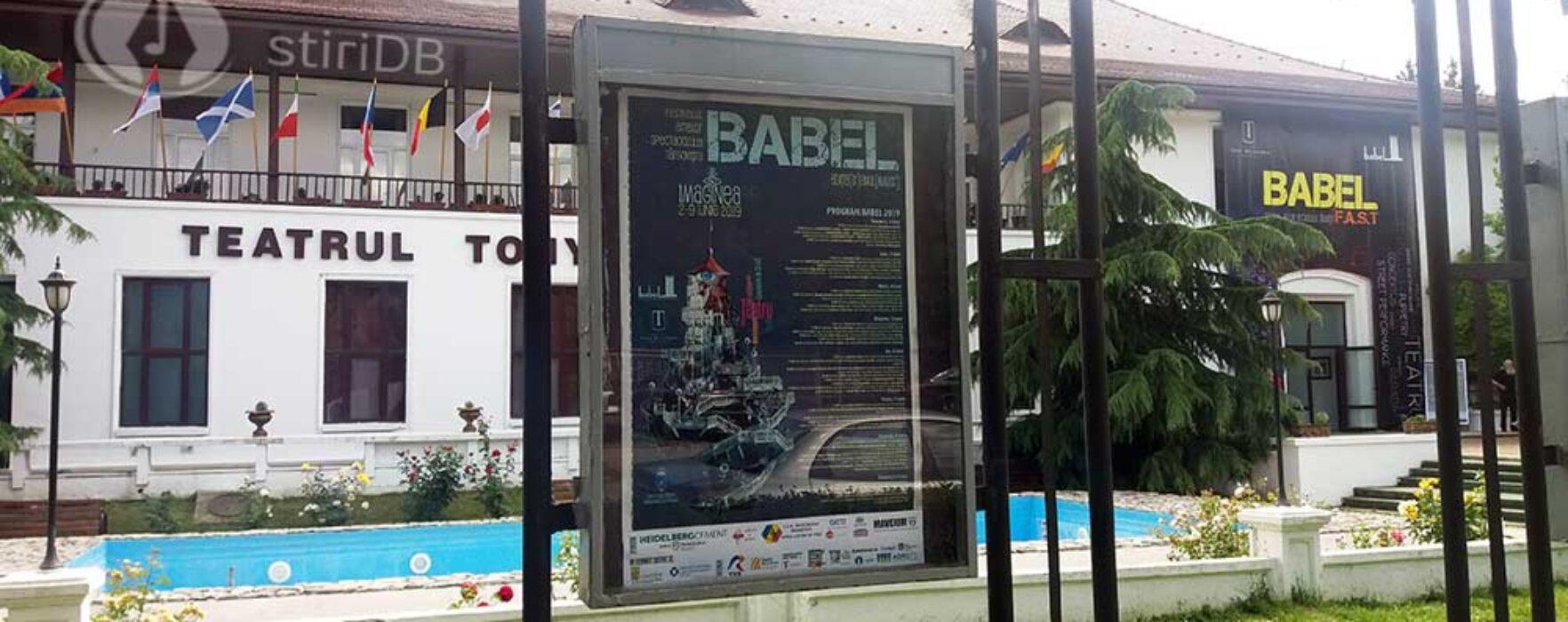 #babel2019  Programul spectacolelor – vineri, 7 iunie