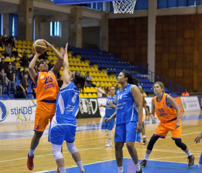 Baschet feminin: CSM Târgovişte pierde acasă primul meci al finalei mici