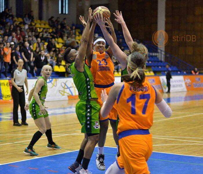 Baschet feminin: CSM Târgovişte pierde derby-ul cu Sepsi, partida fiind decisă după o repriză de prelungiri