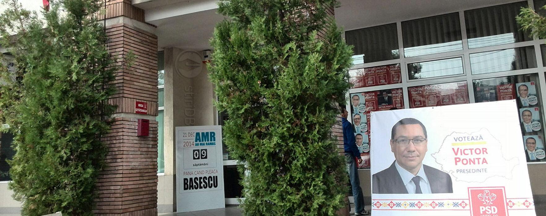 PSD Dâmboviţa: AMR 9 săptămâni Băsescu