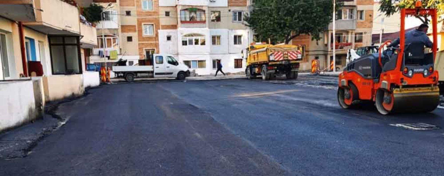 Târgovişte: Au început lucrări de reabilitare a infrastructurii în zona blocurilor 1-2, Bdul Unirii din micro 6