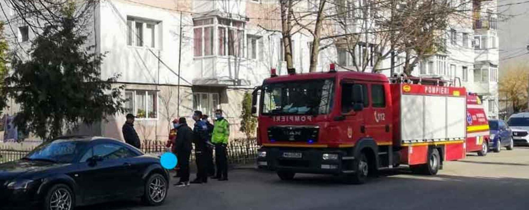 Dâmboviţa: Locatarii unui bloc din Găeşti, evacuaţi din cauza mirosului puternic de gaze
