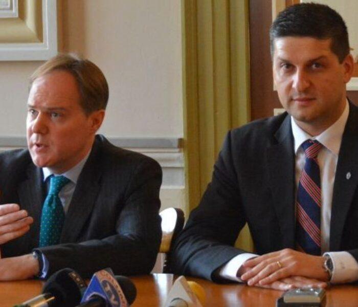 Ambasadorul Marii Britanii, întrevedere cu primarul Boriga – la Târgovişte