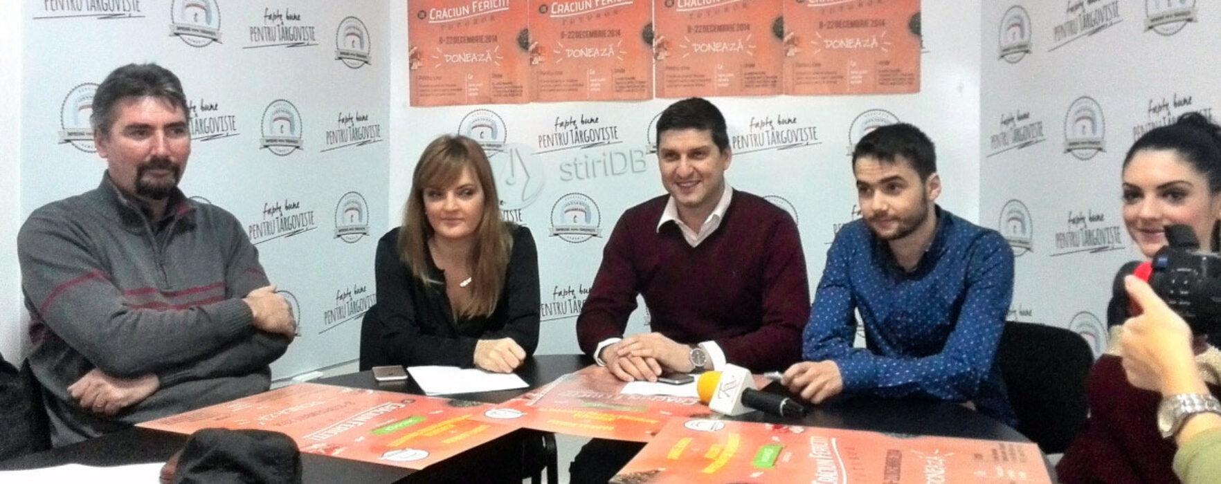 """Campanie umanitară de Crăciun demarată de Gabriel Boriga şi """"Împreună pentru Târgovişte"""""""