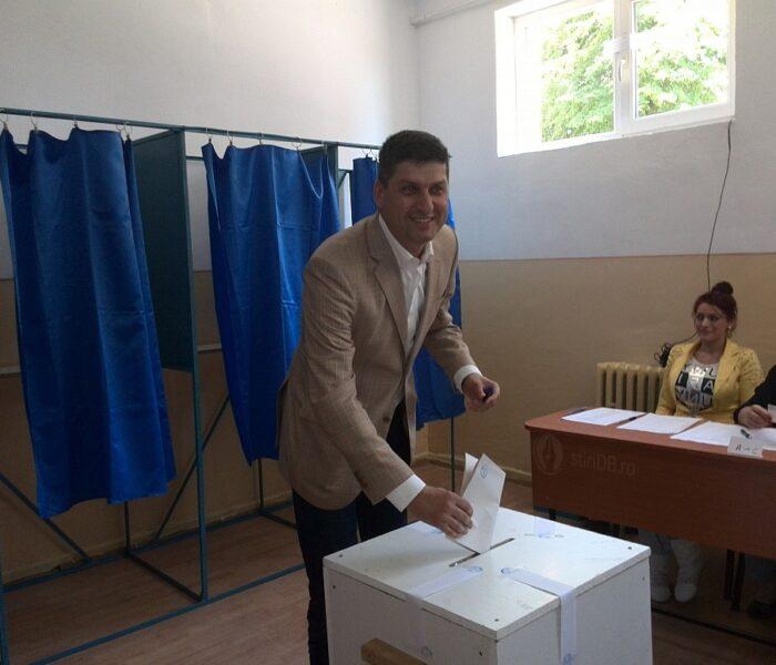 Primarul Târgoviştei, Gabriel Boriga: Am votat pentru o Românie europeană