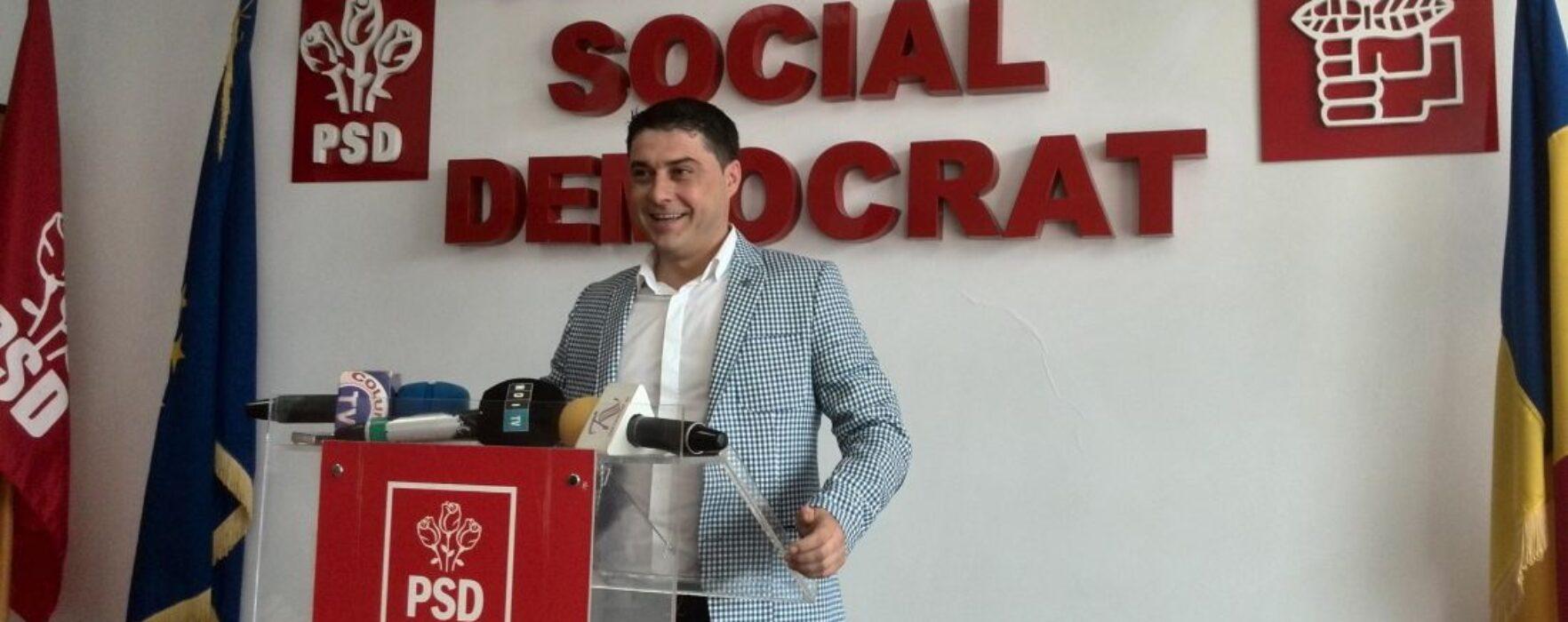 Dâmboviţa: Fostul lider PPDD şi UNPR Cosmin Bozieru s-a înscris în PSD