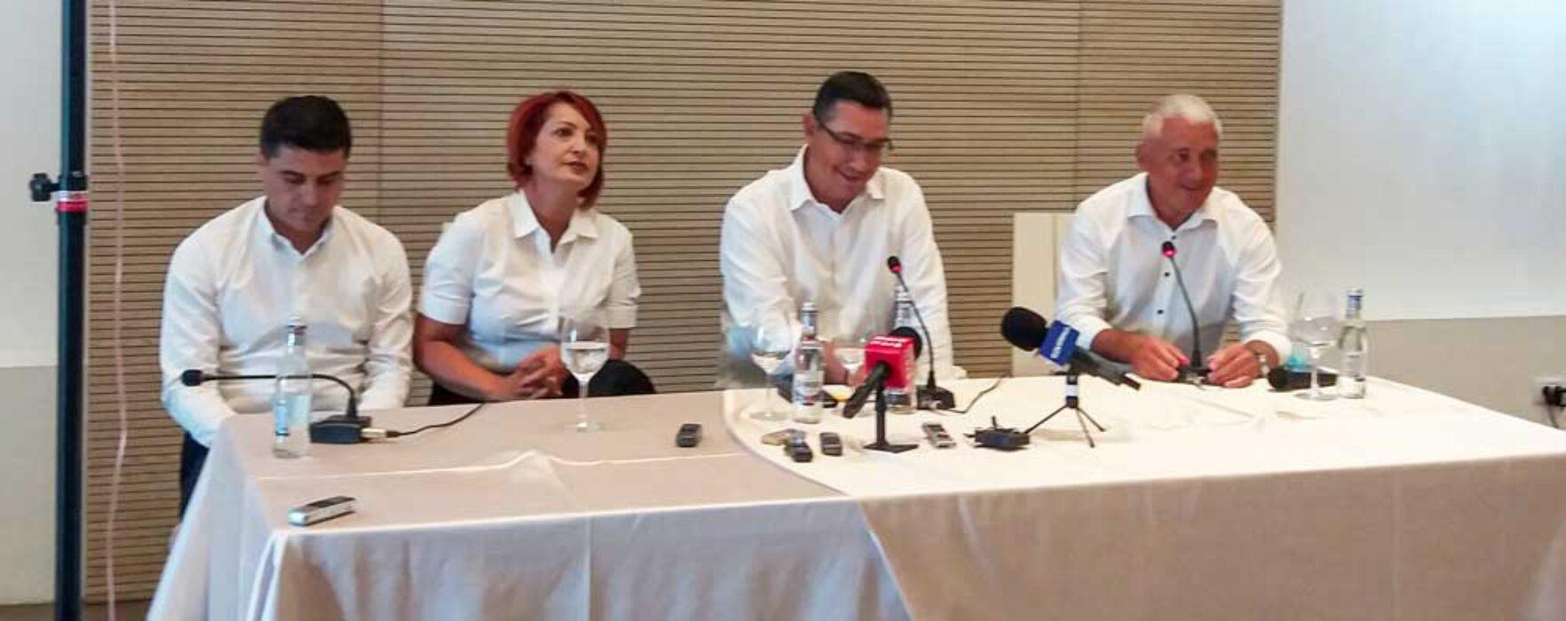 Locale2020 Ponta: Mi-e teamă că blatul de la centru, ce s-a văzut în Parlament, e şi local, între PSD şi PNL