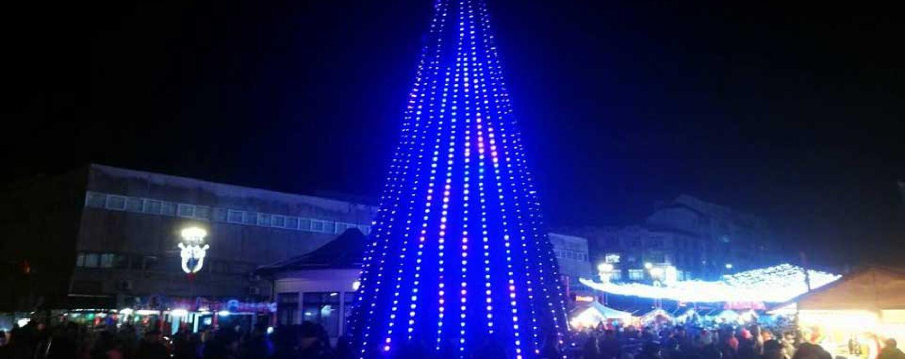 Târgovişte: Şi în acest an iluminatul festiv va fi aprins pe 1 decembrie