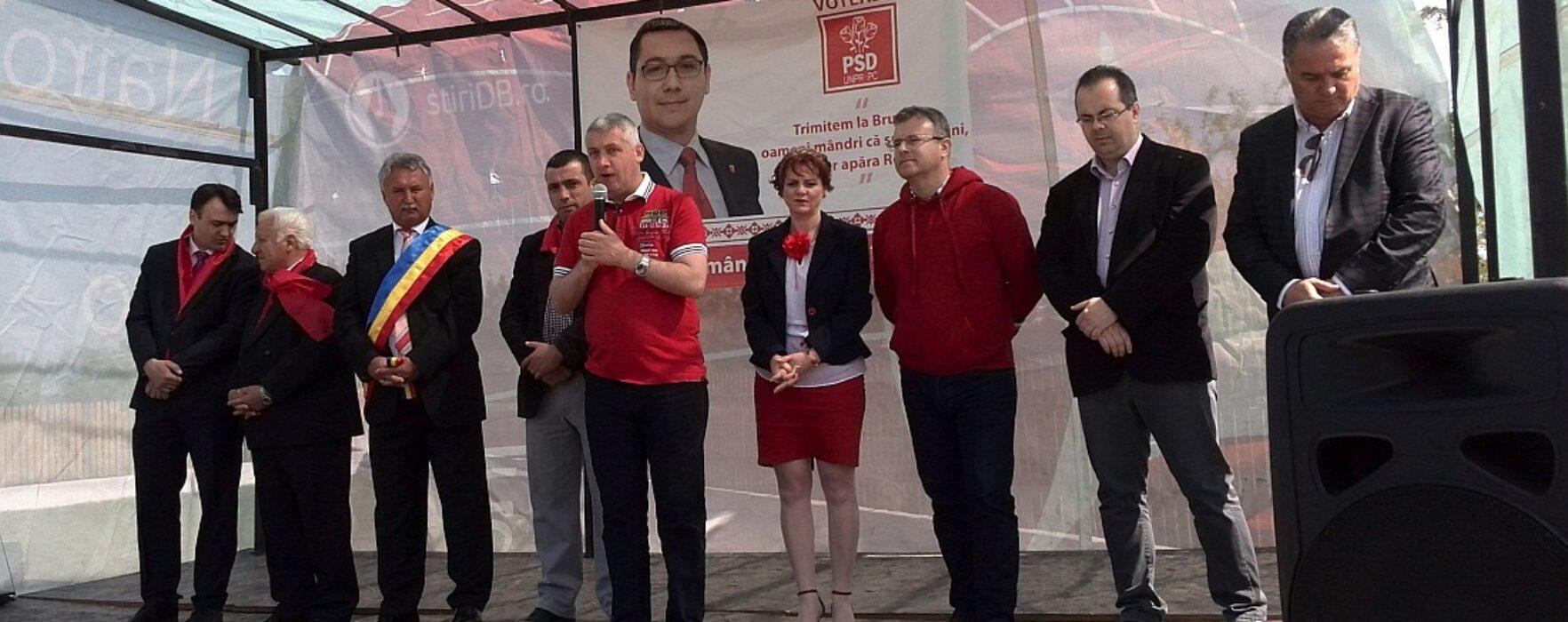 Primar PDL: Sperăm să obţinem 80% în comună la europarlamentare pentru PSD