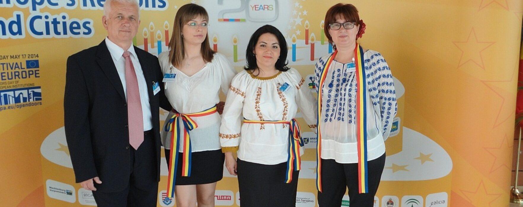Județul Dâmbovița, reprezentat la Festivalul Regiunilor de la Bruxelles