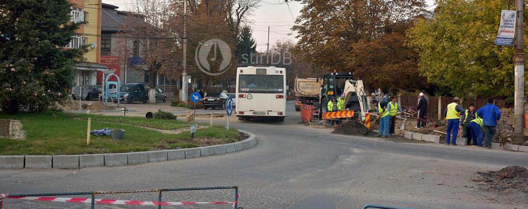 Târgovişte: Restricţii de circulaţie, se asfaltează în unele intersecţii