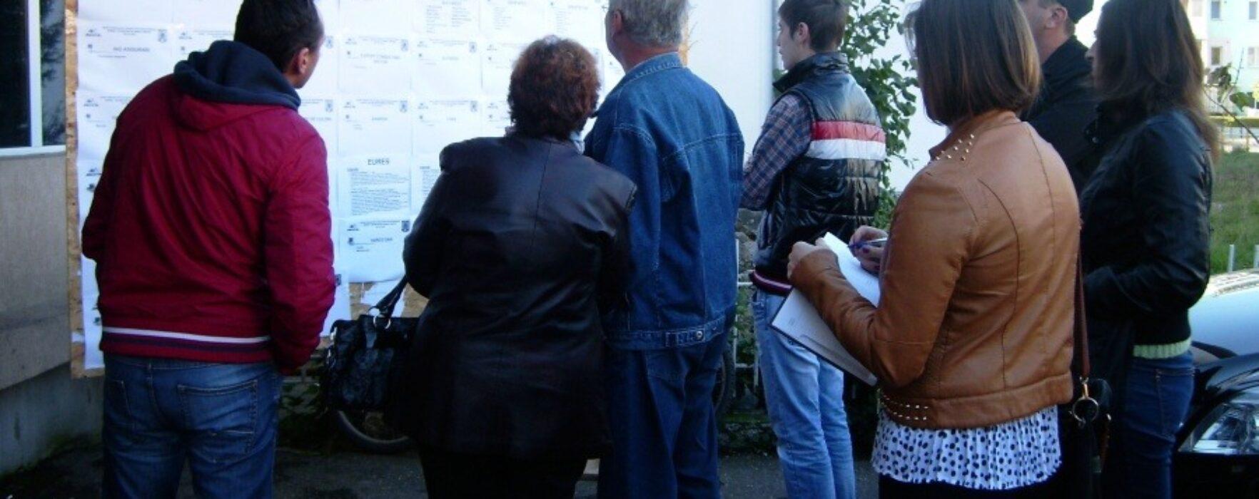 Bursa locurilor de muncă, vineri, în Târgovişte, Moreni şi Pucioasa