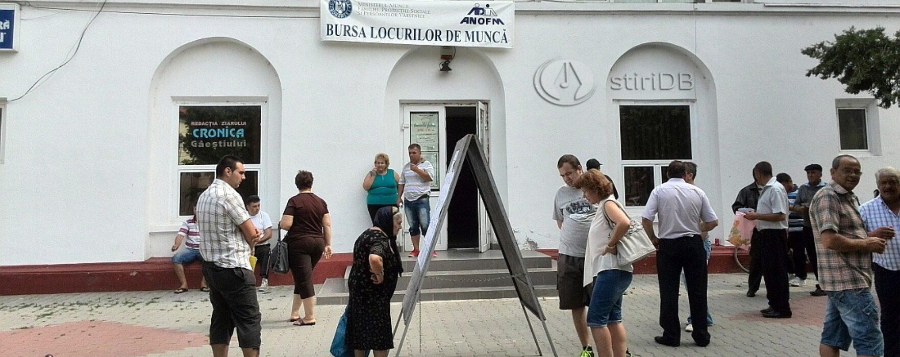 Sute de participanţi la Bursa locurilor de muncă de la Titu şi Găeşti