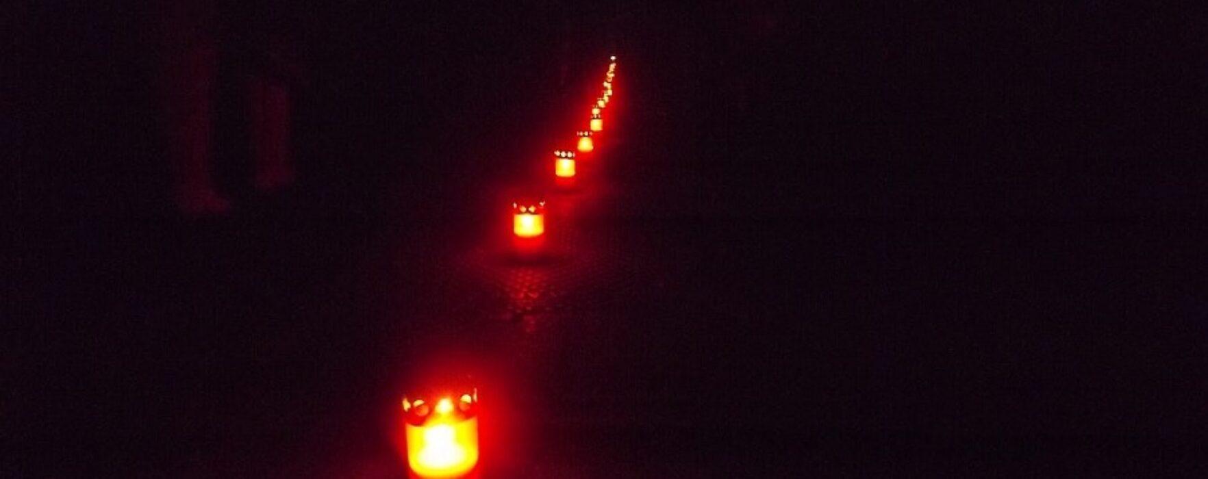 Calea Luminii la Târgovişte, în Joia Mare