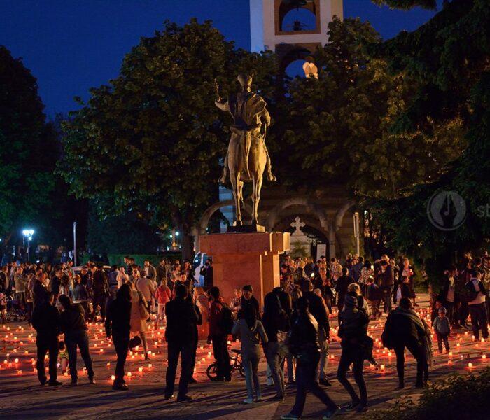 Dâmboviţa: Calea Luminii, la Târgovişte, eveniment în Joia Mare