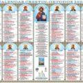 Arhiepiscopia Târgoviştei: Au apărut calendarele bisericești pe anul 2020