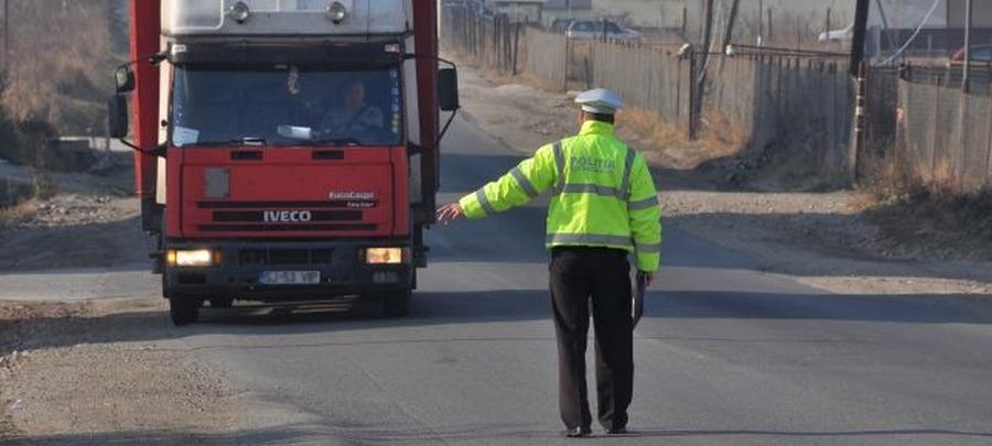 camion politist